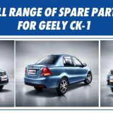 Full range of spare parts for GEELY CK-1