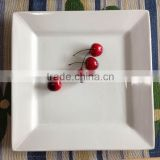 Wholesale cheap bulk white porcelain dinner plates for wedding