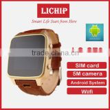 Android system wifi sim card 5M camera SZ9 smart watch