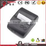 5802LD 58mm paper width andriod smartphone/pc/computer mini bluetooth android thermal pos printer