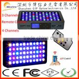 WIFI Control Dimmable 165W Full Spectrum Led Aquarium Light For Coral Reef Freshwater plant