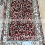 China 400kpsi silk handmade fashion silk rug iranian silk carpet