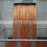 DC Copper Coated Blasting Carbon Gouging Rods / Carbon Electrode
