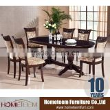 Popular Ukraine design solid wood dining room furniture sets                                                                         Quality Choice