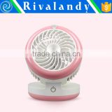 Safe Environment-protected Small-size usb mini Portable fan or Battery-rechargeable Mini Fans with Nano Spray Function                                                                                                         Supplier's Choice