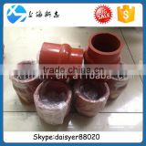 Shanghai Diesel Engine Parts D6114 / D9 / Carter 6121 rubber connecting pipe D12-104-3213