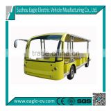 23 seats electric mini bus with powerful motor from Suzhou Eagle                                                                         Quality Choice