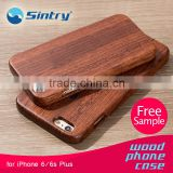 2016 OEM shockproof material plastic accessories shockproof phonecase woodenmobilecase real wood phonecase woodencase for iphone