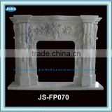 sale home decoration antique marble flower fireplace