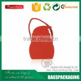 Promotional desigh red small felt gift bags
