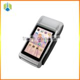 New arrival 4 inch all in one android pos terminal with nfc reader/card reader/thermal printer------Gc068