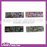 2012 Wholesale 20*20mm Flat Back Expoxy Gems Cabochon Colorful Shell Inlay Design Decor For Home Decoration