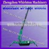 mini Crawler crane with Diesel engine3Ton Hoist Spider Crane/lifting height spider crane