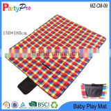 2015 Nice Hot Outdoor Camping Picnic Mat Beach Mat Waterproof Baby Play Mat