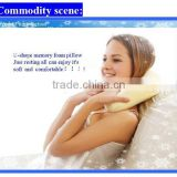 U-shaped high quality comfortable cheap price healthy latest design car memory foam neck care pillow