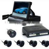 Rear view parking system with camera and 4.3 inch LCD monitor, parktronic with camera, Best selling products