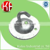 BS4568 electrical wiring accessories & steel pipe fittings & 20mm steel hook plate