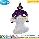 DJ-CO-187XT children kids jumpsuit Witch ghost inflatable warm halloween costume