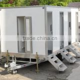 Power trailer tractor, Portable Toilet, Movable trailer Toilet