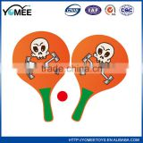 Hot selling wooden paddle racket