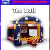 XIXI inflatable kids sport challenges,PVC inflatable Tee Ball sport games,inflatable baseball game                                                                                                         Supplier's Choice