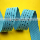 supply high quality color webbing polypropylene braid Widening and thickening ribbon