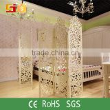 Supermarket decoration divider movable screens room dividers