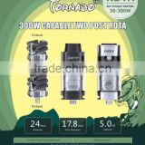 Authentic ijoy tornado tank Atomizer Two Deck Post Surport Tornado T4/T6 Deck