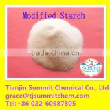 pre-gelatinized starch modified starch for oil drilling using