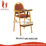 wholesale dinning metal baby chair for banquet hotel restaurant