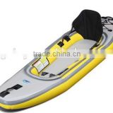 big new inflatable plastic fishing canoe kayak