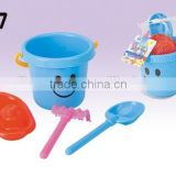 Hot Sale 4pcs/set Sandy Beach Tool Kids Beach Toy Set Children Bucket,Pail Outdoor Fun Toy
