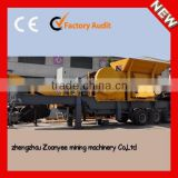 CE certificated Philippines Mobile Crushing And Screening Plant,Philippines Mobile Aggregate Plant
