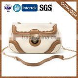 8 Years Manufacturer Fashionable Leather Ladies Bandbag Export Quality Beautiful Cross Body Bag