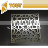 Factory Supply Home Hotel Room Office Color Laser Cutting Decorative Stainless Steel Screen                                                                         Quality Choice
