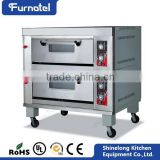 Guangzhou Commercial Stainless Steel 2-Layer 4-Tray Gas bread automatic oven Used Bread Bakery Equipment
