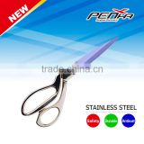 High quality heated fabric scissors professional tailor cloth cutting scissor