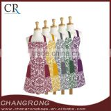 100% cotton fashion printed damask chef kitchen apron                                                                                                         Supplier's Choice