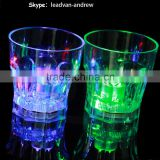 Octagon LED Cup LED Whisky Glass For Promotion