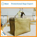 China suppliers jute bag jute bag shopping bags of jute cheaply