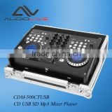 Factory supply newest CDM-500CT USB dual CD USB SD Mp3 Audio DJ Mixer Player                                                                         Quality Choice