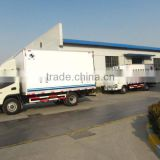 10feet -14feet refrigerated van and truck/cooling van truck/cold food truck/refrigerated freeze truck
