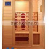 2016 new hot sale 3 person big far infrared sauna room fitness equipment