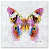 ROYI ART Butterfly Modern Oil Painting with stretchered frame Wholesale