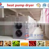 High efficiency clean heat pump dryer electric PLC control cherry tomato food dehydrator