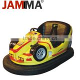 Battery Kids Inflatable car racing game machine electric Inflatable best selling with classic design bumper car