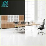 2012 Modern fashional new design Office conference room furniture conference table with steel leg