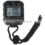 30 Memories 2-Row LCD Digital Stopwatch with Alarm Calendar for Sports PC70