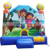 Dora theme explorer inflatable bounce house for sale