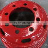 Bus truck steel wheel 7.5-20